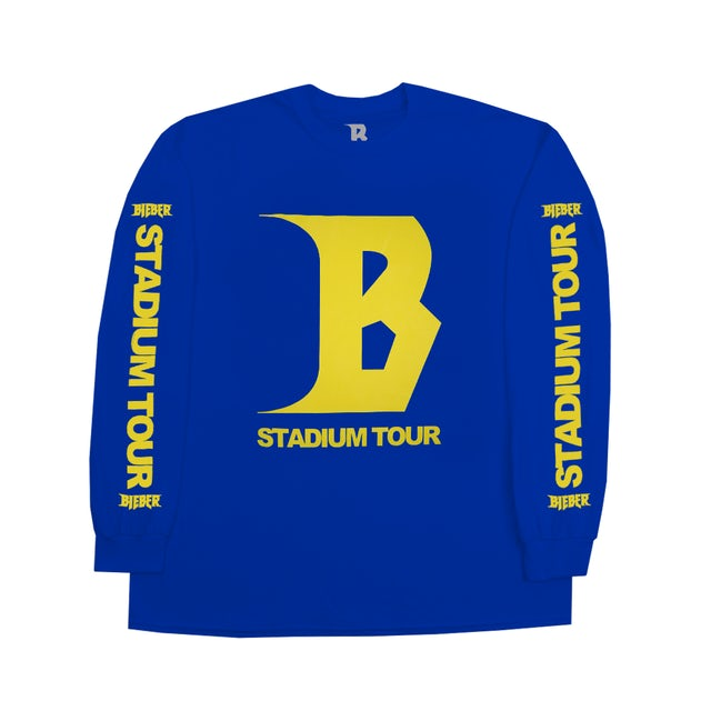 Justin Bieber Stadium Long Sleeve T-shirt
