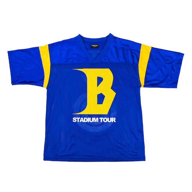 Justin Bieber STADIUM TOUR FOOTBALL JERSEY