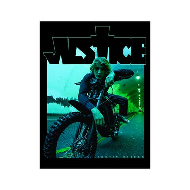 Justin Bieber TUNNEL POSTER