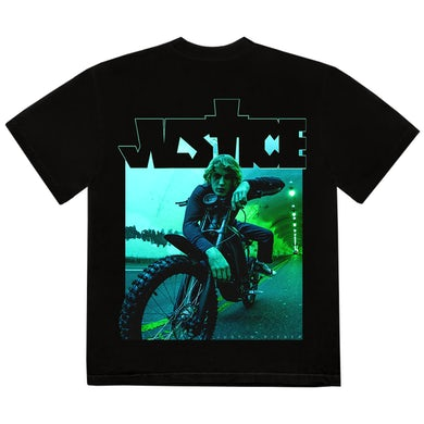 Justin Bieber DIRT BIKE PHOTO T-SHIRT