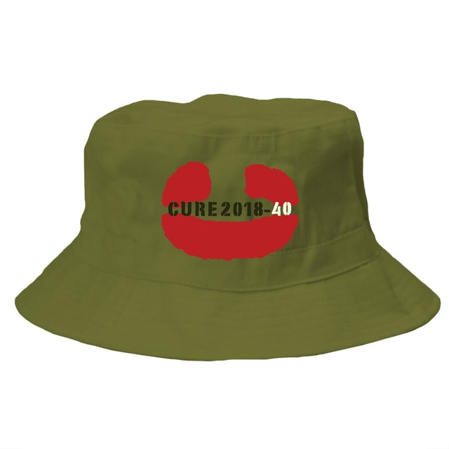 The Cure 40 Bucket Hat