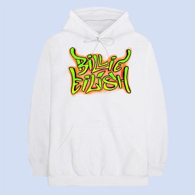 Billie Eilish Grafitti Hoodie + Digital Album