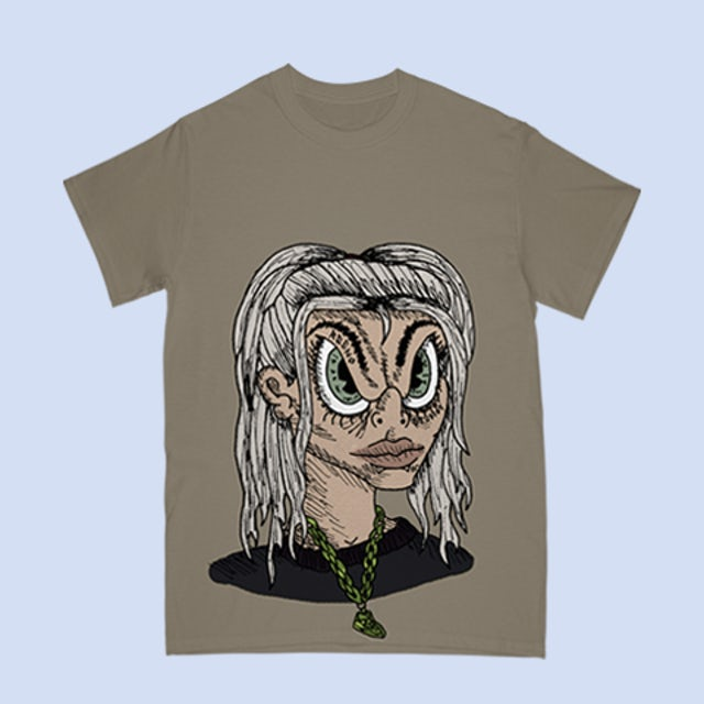 Billie Eilish Anime - Xreeno Studios T-Shirt + Digital Album