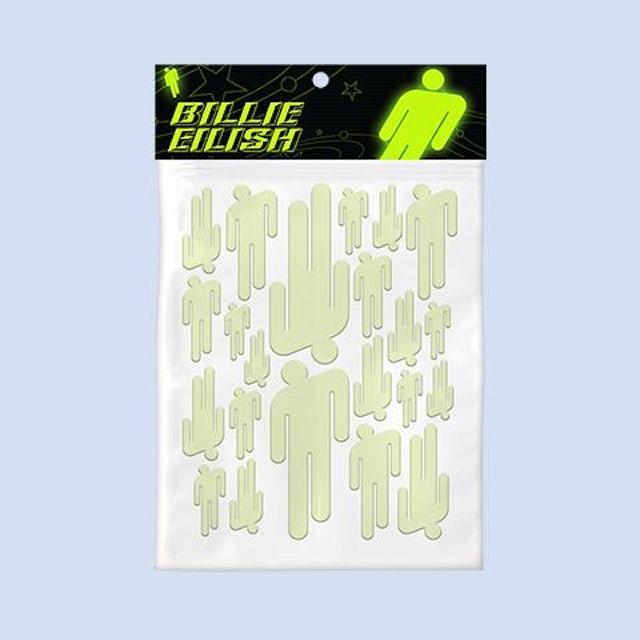 Billie Eilish Glow Blohsh Stickers + Digital Album