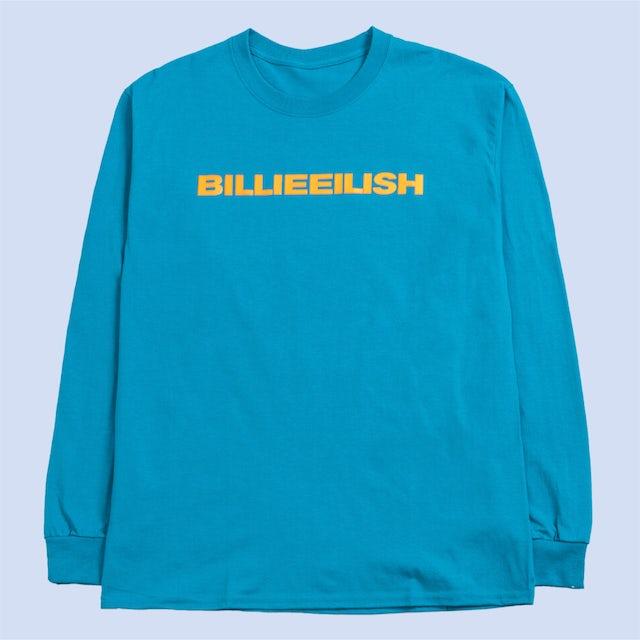 "Billie Eilish ""dont smile at me"" SAPPHIRE LONG SLEEVE + DIGITAL ALBUM"