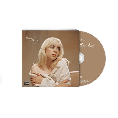 Billie Eilish 'Happier Than Ever' CD Photobook