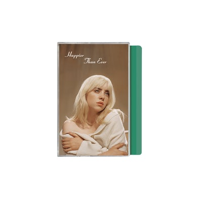 Billie Eilish 'Happier Than Ever' Exclusive Mint Green Cassette