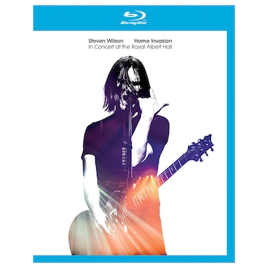 """Steven Wilson """"HOME INVASION - IN CONCERT AT THE ROYAL ALBERT HALL"""" BluRay + 2CD"""