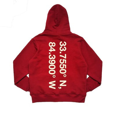 Lil Yachty LB 2 COORDINATES RED HOODIE