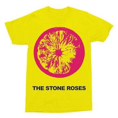 The Stone Roses YELLOW LEMON T-SHIRT