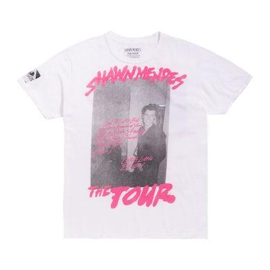 Shawn Mendes THE TOUR PHOTO T-SHIRT