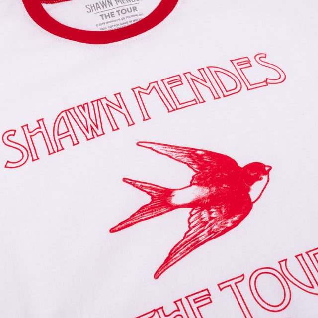 Shawn Mendes THE TOUR BIRD T-SHIRT