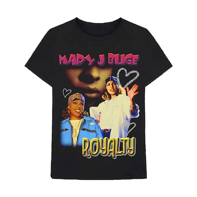 Mary J. Blige Royalty Tour Collage T-Shirt