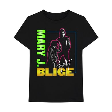 Mary J. Blige Royalty Tour Neon Vintage T-Shirt