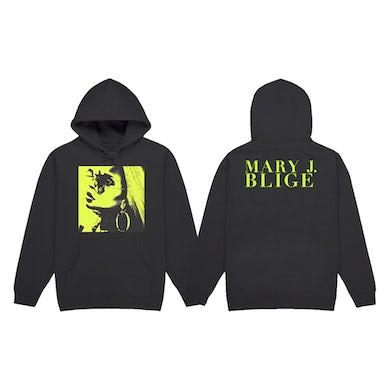 Mary J. Blige Profile Photo Black Hoodie