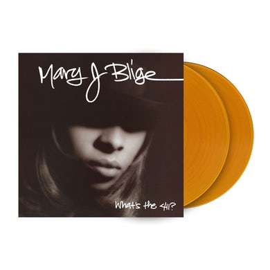 """Mary J. Blige """"What's The 411 (25th Anniversary)"""" 2LP - Translucent Gold (Vinyl)"""