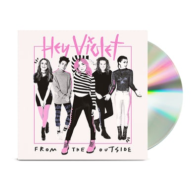 Hey Violet From The Outside CD