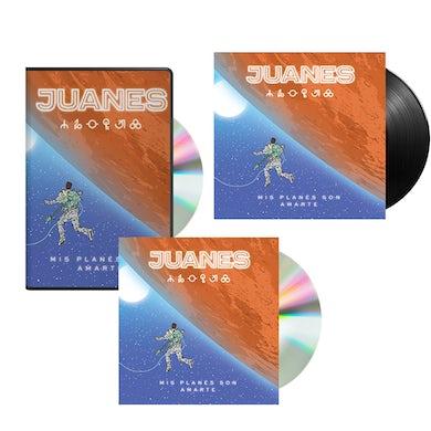 Juanes Mis Planes Son Amarte CD/DVD + Vinyl