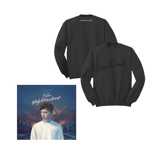 Troye Sivan Blue Neighbourhood Deluxe Album + Sweatshirt