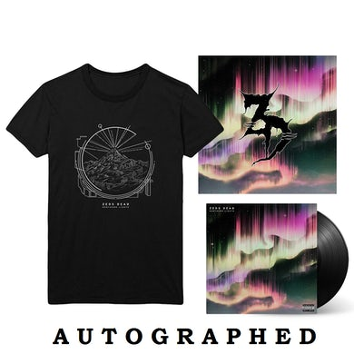 "Zeds Dead Northern Lights LP + 12""x12"" Litho + T-Shirt"