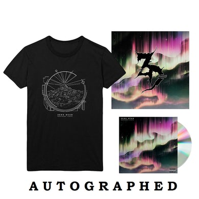 "Zeds Dead Northern Lights CD + 12""x12"" Litho + T-Shirt"