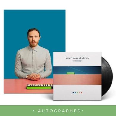 James Vincent Mcmorrow We Move LP + 12x12 Autographed litho (Vinyl)