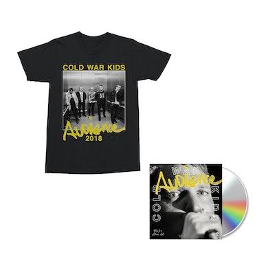 Cold War Kids Audience CD + Digital Album + T-Shirt