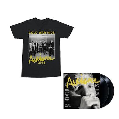 Cold War Kids Audience 2LP Vinyl + Digital Album + T-Shirt