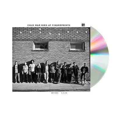 Cold War Kids at Fingerprints CD