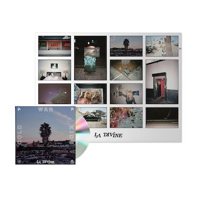 Cold War Kids LA Divine Signed CD + Poster
