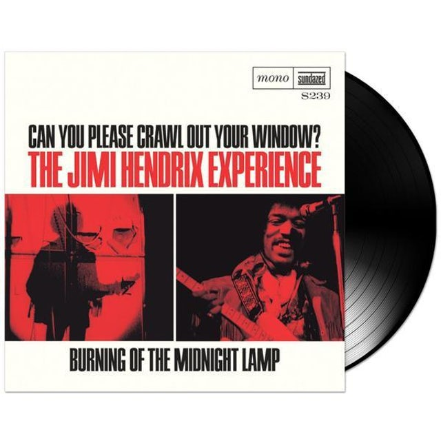 """Jimi Hendrix Can You Please Crawl Out Your Window/Burning Of The Midnight Lamp 7"""" LP (Vinyl)"""