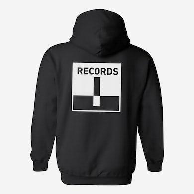 Terrible Records Black Logo Hoodie