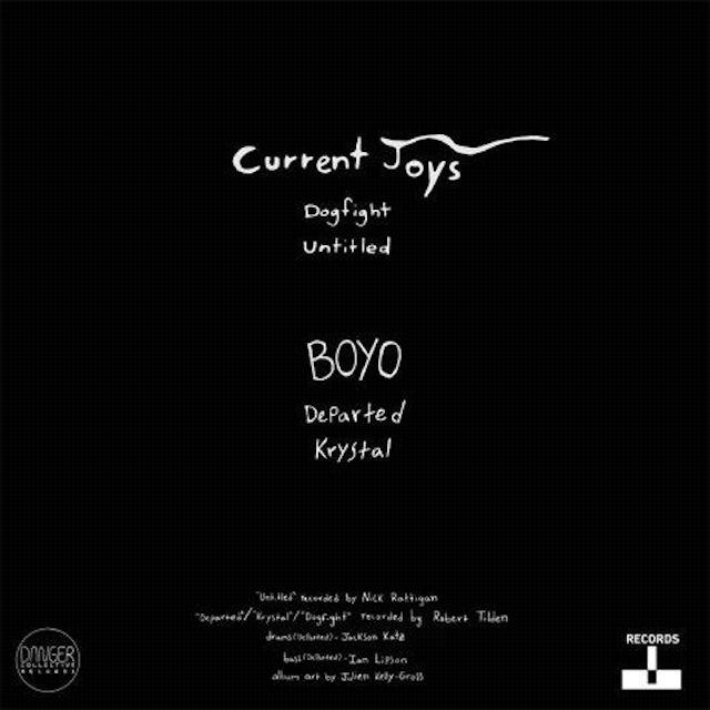 """Terrible Records Current Joys/BOYO Split 10"""" Vinyl"""