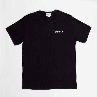 Terrible Records Black Logo Tee