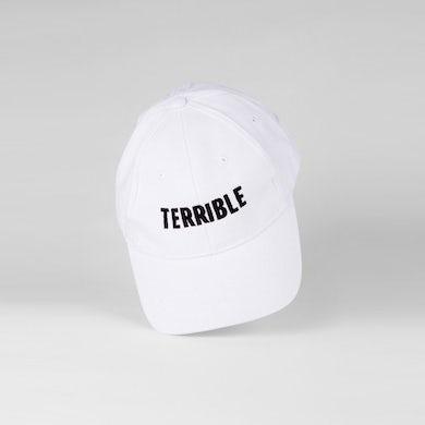 Terrible Records Logo Hat (Black on White)