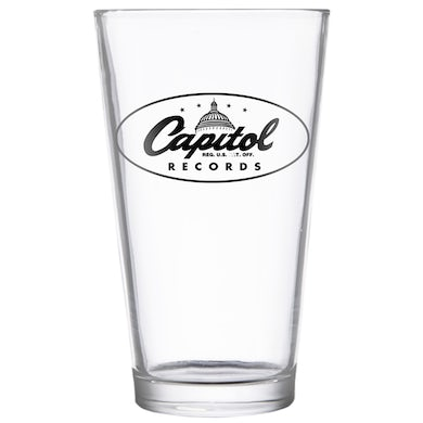 Capitol Records Pint Glass