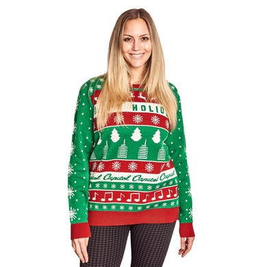 Capitol Records Capitol Christmas Sweater