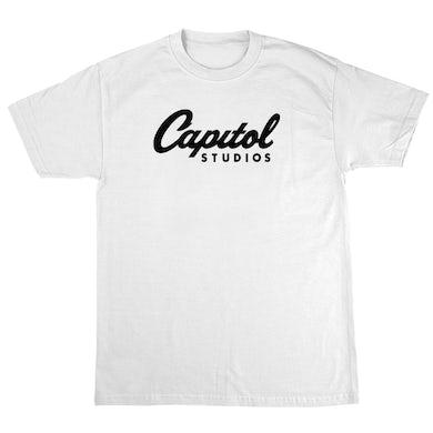 Capitol Records Capitol Studios T-Shirt White