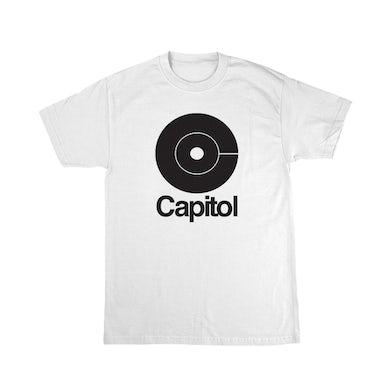 Capitol Records C Logo White T-Shirt