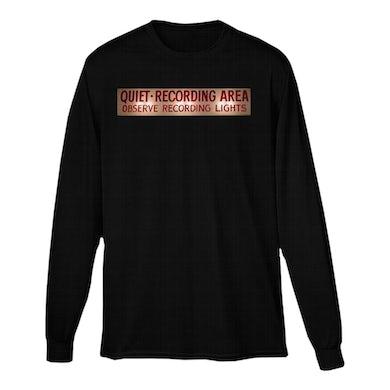 Capitol Records Capitol Studios Quiet Recording Long Sleeve T-Shirt Black