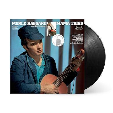 """Merle Haggard """"Mama Tried"""" LP (Vinyl)"""