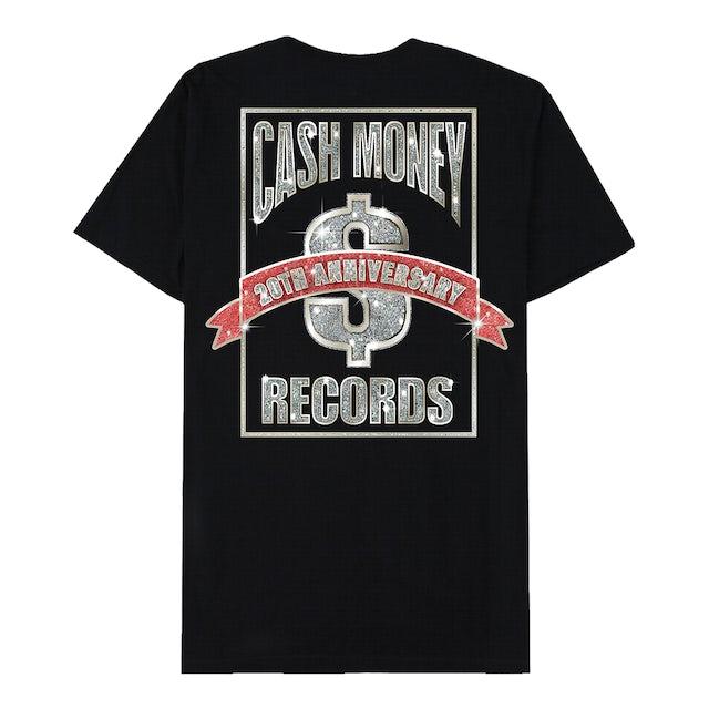 Cash Money Records 20th Anniversary Black T-Shirt