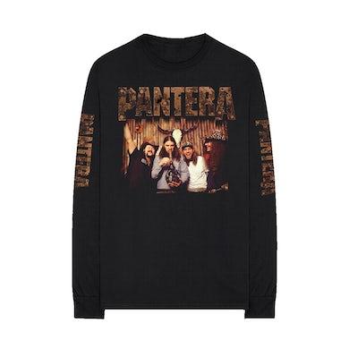 Pantera Bong Group Color Photo Longsleeve Shirt