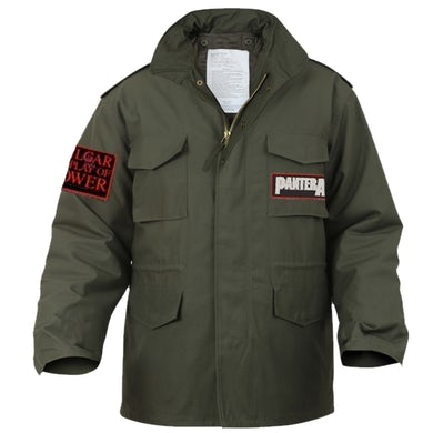 Pantera Vulgar Display of Power Military Jacket