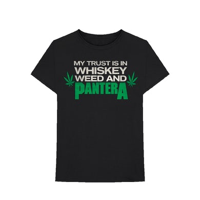 Pantera Whiskey Weed T-Shirt