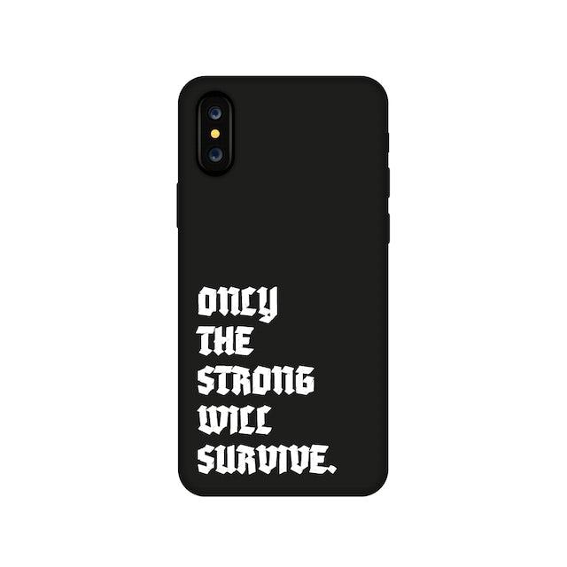 Dave East Black Survival iPhone Case