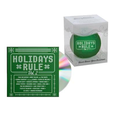 Holidays Rule CD + Ornament