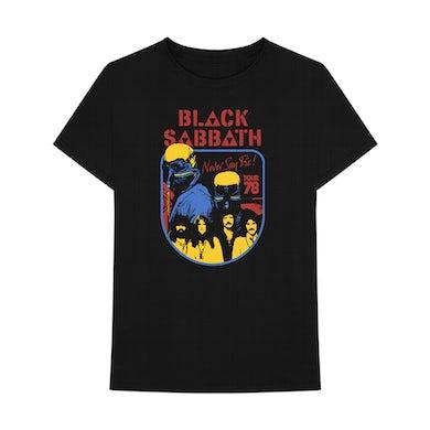 Black Sabbath Never Say Die 40th T-Shirt