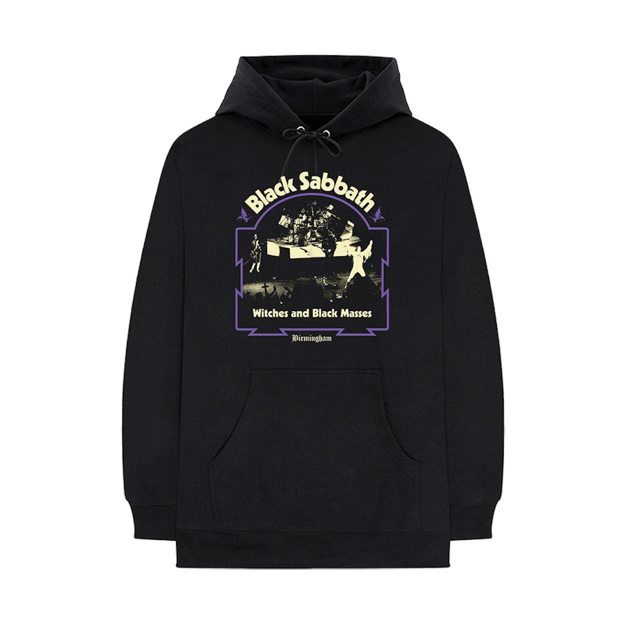 Black Sabbath Christmas Sweater.Black Sabbath Witches And Black Masses Hoodie