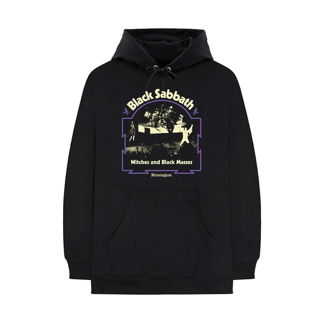 Black Sabbath Witches and Black Masses Hoodie